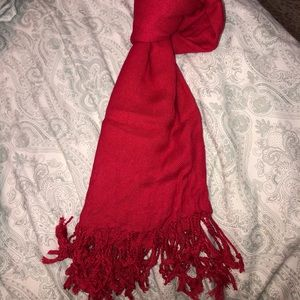 Accessories - Red Scarf♥️